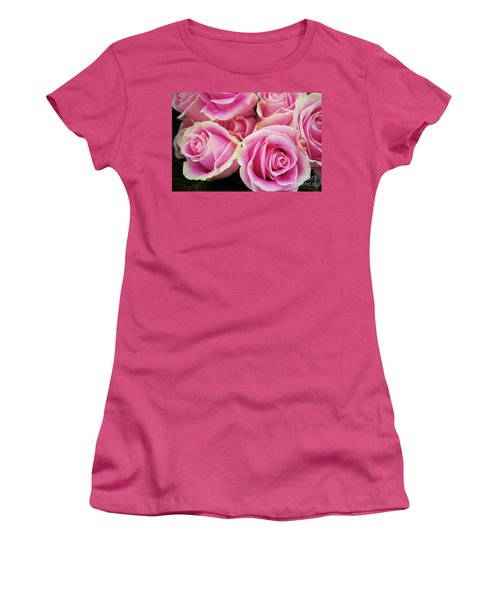 Sweet Rose For All The Lovely Ladies Who Comment On My Work Women's T-Shirt (Athletic Fit)