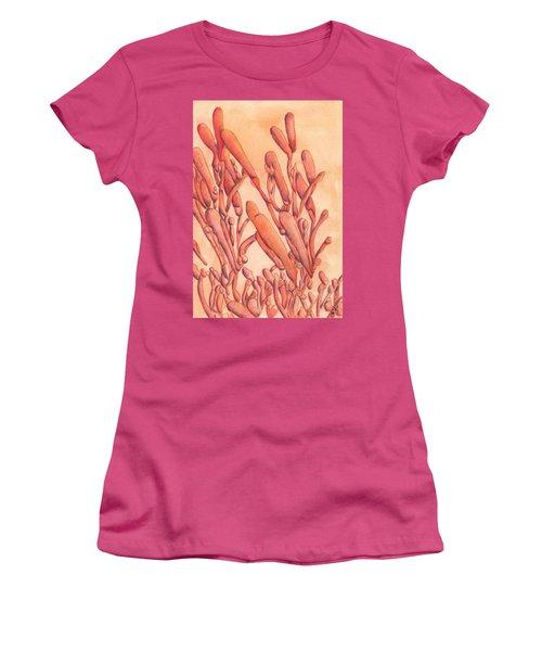Firecracker  Women's T-Shirt (Junior Cut) by Versel Reid