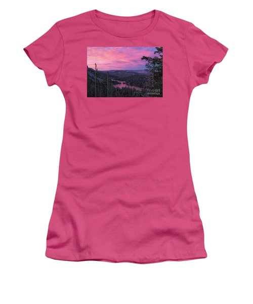 Twilight Mammoth Lakes  Women's T-Shirt (Athletic Fit)