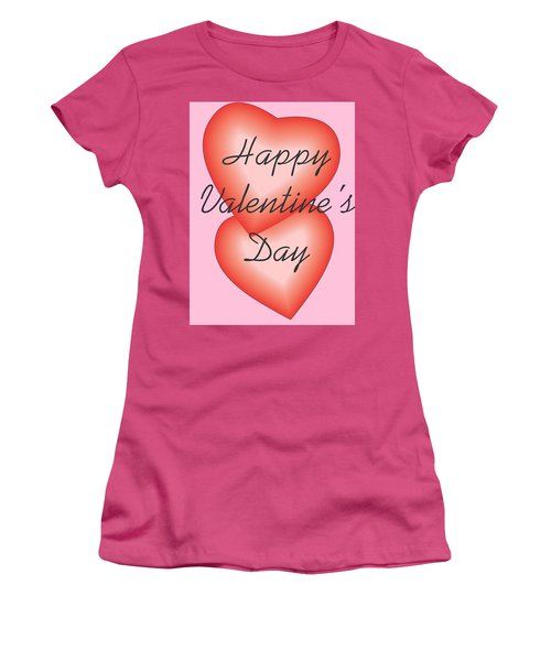 Valentine Hearts Women's T-Shirt (Athletic Fit)