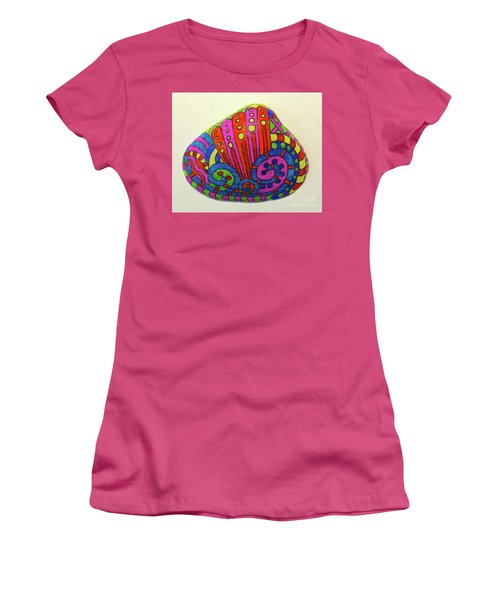 Wave Sharpie Shell Women's T-Shirt (Athletic Fit)