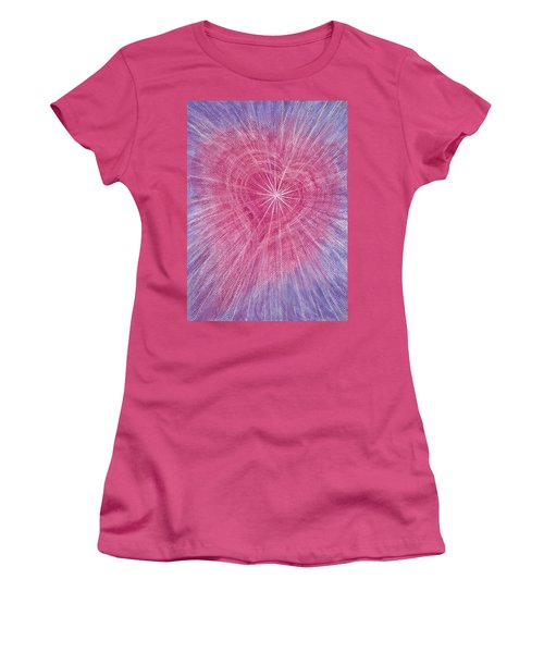 Wisdom Of The Heart Women's T-Shirt (Athletic Fit)