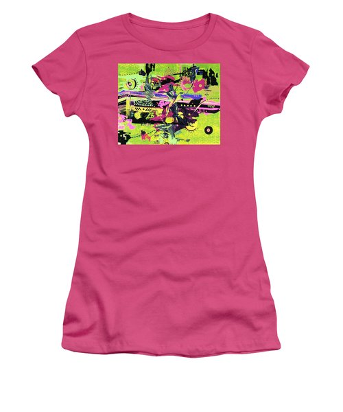 You Did Whaaaaat? Women's T-Shirt (Athletic Fit)