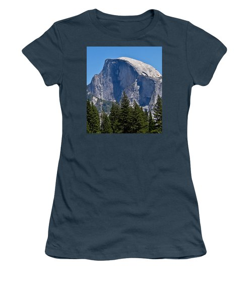 Women's T-Shirt (Junior Cut) featuring the photograph Half Dome by Brian Williamson