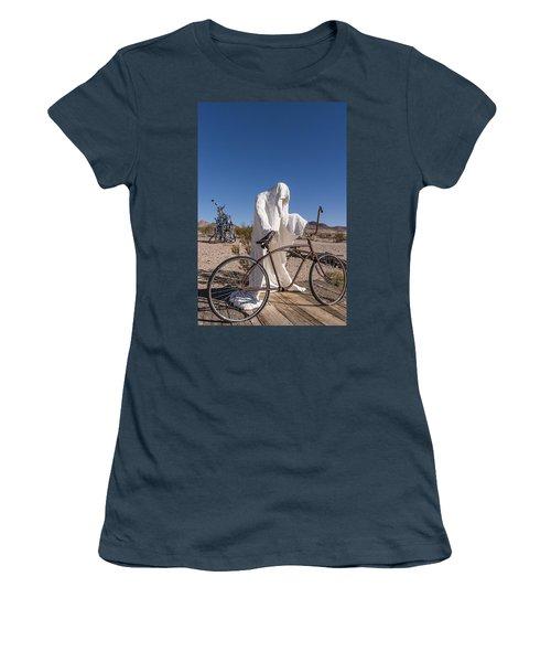 Rhyolite Women's T-Shirt (Junior Cut) by Muhie Kanawati