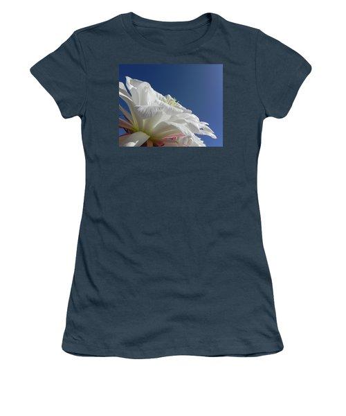 Women's T-Shirt (Junior Cut) featuring the photograph Striking Contrast by Deb Halloran