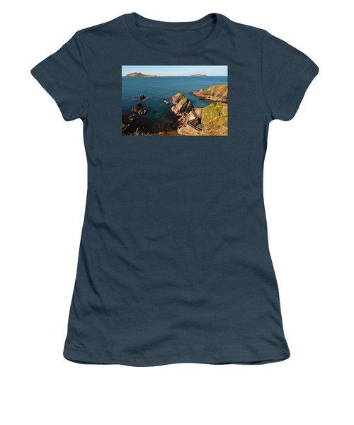 Women's T-Shirt (Junior Cut) featuring the photograph Blasket Islands by Barbara Walsh