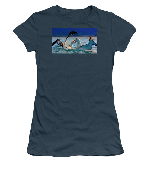 Wandering Albatross Women's T-Shirt (Junior Cut) by Amanda Stadther