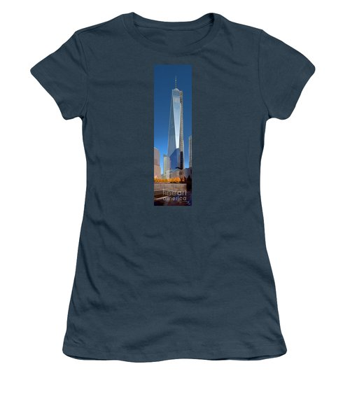 9/11 Memorial Women's T-Shirt (Junior Cut) by Mariarosa Rockefeller
