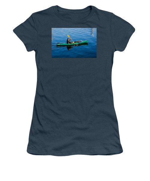 Afternoon Commute Women's T-Shirt (Junior Cut) by Tikvah's Hope