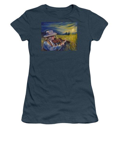 Alberta Lullaby Women's T-Shirt (Junior Cut)