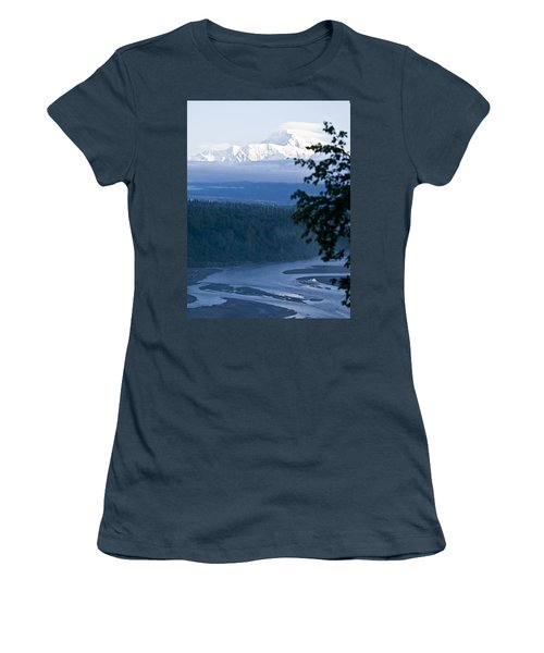 Another Denali View  Women's T-Shirt (Junior Cut) by Tara Lynn