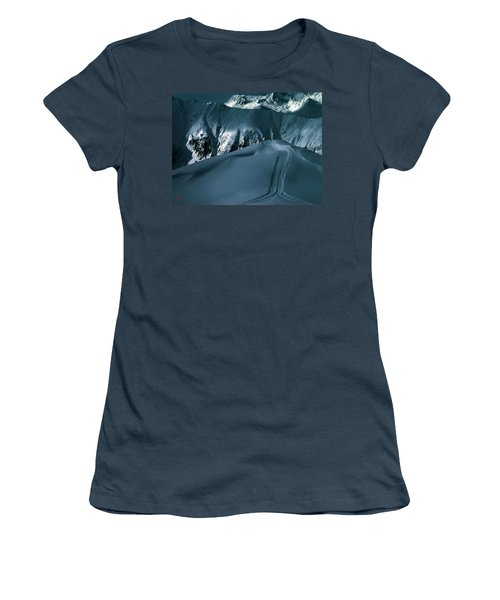 Another Late Day In The Mountains  Women's T-Shirt (Junior Cut) by Colette V Hera  Guggenheim