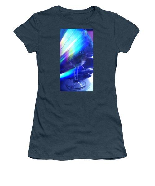 Women's T-Shirt (Junior Cut) featuring the photograph Art Glass by Martin Howard