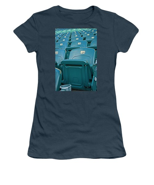 Awaiting The Crowds Women's T-Shirt (Junior Cut) by Michael Porchik