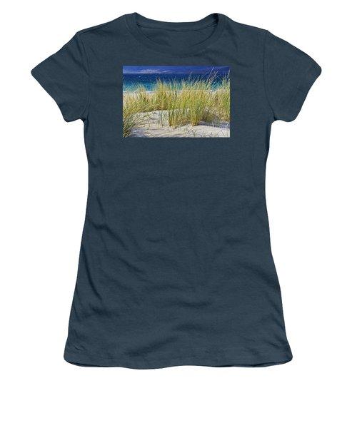 Beach Gras Women's T-Shirt (Junior Cut) by Juergen Klust