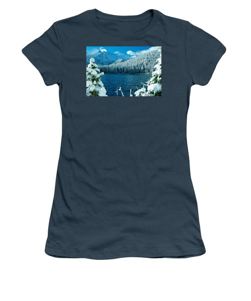 Bear Lake Women's T-Shirt (Junior Cut) by Eric Glaser