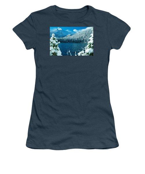 Bear Lake Women's T-Shirt (Junior Cut) by Eric Glaser