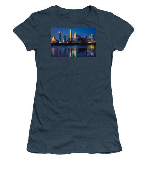 Big D Reflection Women's T-Shirt (Junior Cut) by Inge Johnsson