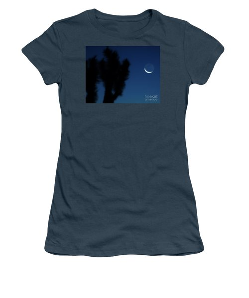 Women's T-Shirt (Junior Cut) featuring the photograph Blue by Angela J Wright