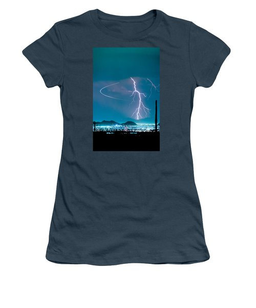 Bo Trek The Lightning Man Women's T-Shirt (Junior Cut) by James BO  Insogna