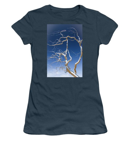 Branches Of Silver Women's T-Shirt (Junior Cut) by Steven Bateson