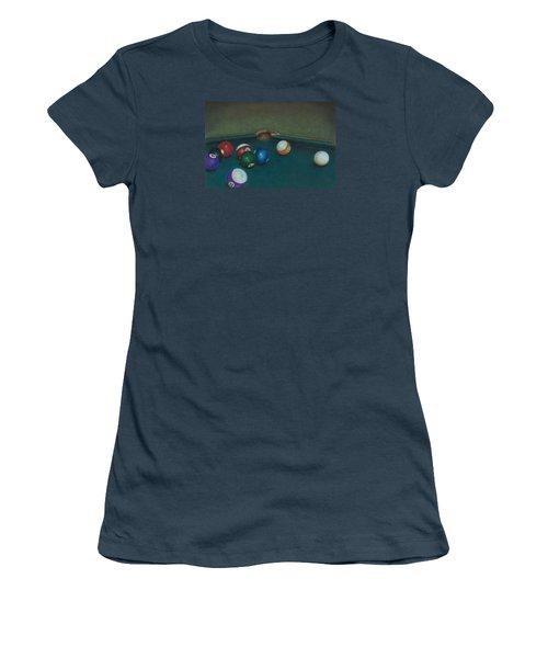 Break Women's T-Shirt (Junior Cut) by Troy Levesque