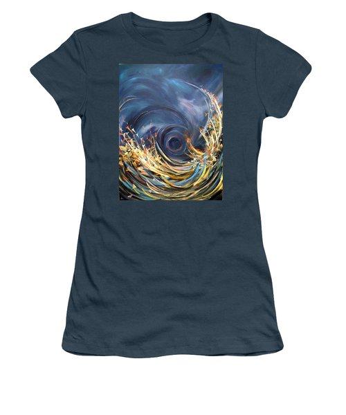 Butterflies Migration Women's T-Shirt (Junior Cut) by Dorothy Maier