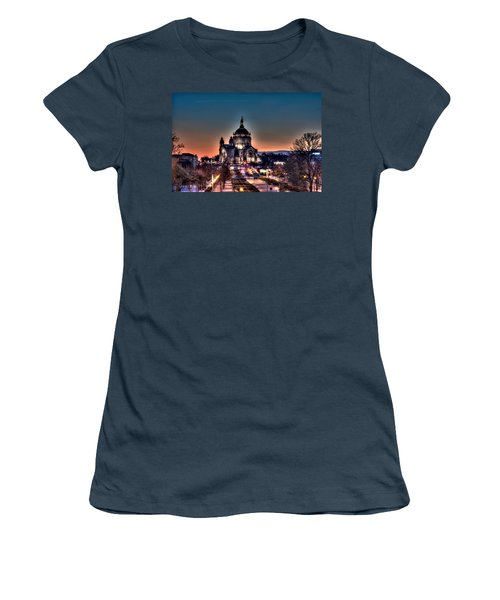 Cathedral Of Saint Paul Women's T-Shirt (Junior Cut) by Amanda Stadther