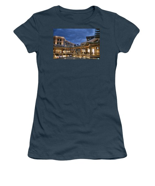 Women's T-Shirt (Junior Cut) featuring the photograph City Creek by Ely Arsha