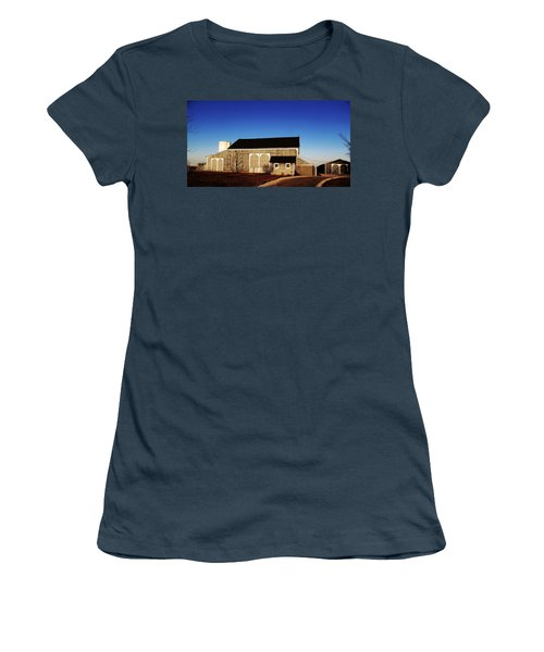 Women's T-Shirt (Junior Cut) featuring the photograph Closed For The Day by Tina M Wenger
