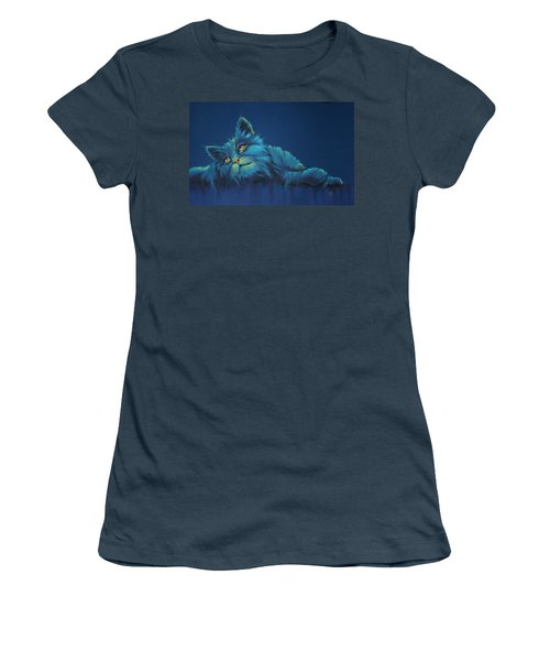 Women's T-Shirt (Junior Cut) featuring the drawing Daydreams by Cynthia House