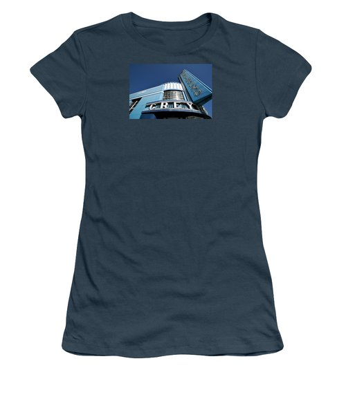 Deco Dog Women's T-Shirt (Junior Cut) by Lawrence Boothby