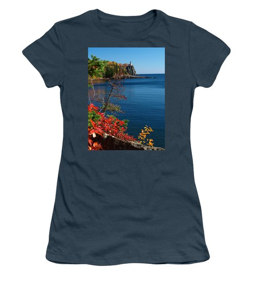 Deep Blue Superior Women's T-Shirt (Junior Cut) by James Peterson
