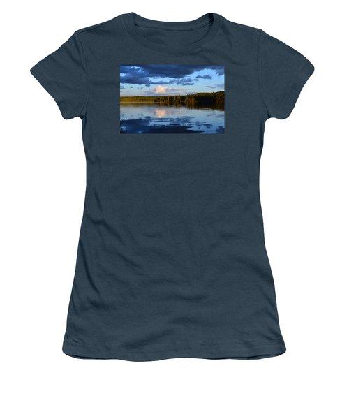 Dusk After A Storm Women's T-Shirt (Junior Cut) by David Porteus