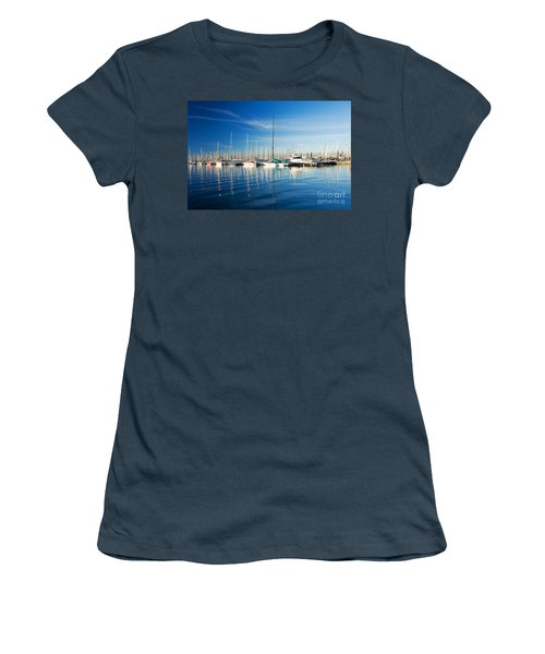 Women's T-Shirt (Junior Cut) featuring the photograph Gem Pier Of Williamstown by Yew Kwang