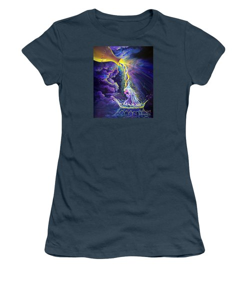 Get Ready Women's T-Shirt (Junior Cut) by Nancy Cupp