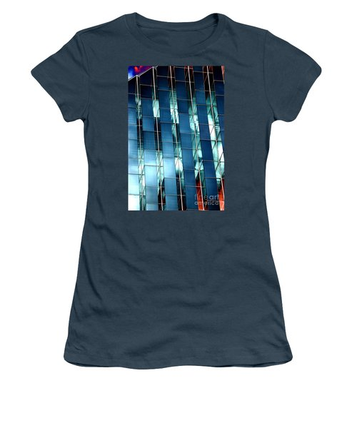 Women's T-Shirt (Junior Cut) featuring the photograph Glass House II by Christiane Hellner-OBrien