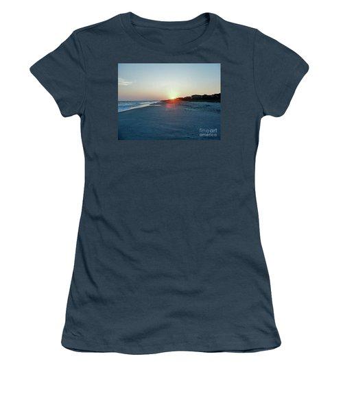 Women's T-Shirt (Junior Cut) featuring the photograph Good Night Day by Roberta Byram