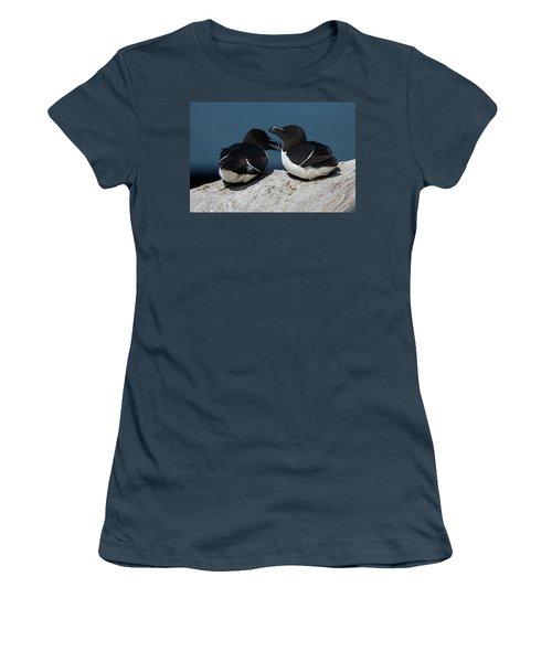 Gossip Mongers Women's T-Shirt (Junior Cut) by Brent L Ander