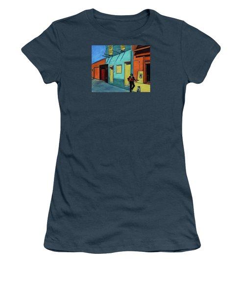 La Boca Morning II Women's T-Shirt (Junior Cut) by Xueling Zou