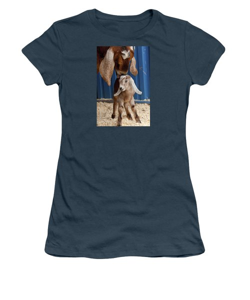 Licked Clean Women's T-Shirt (Junior Cut) by Caitlyn  Grasso