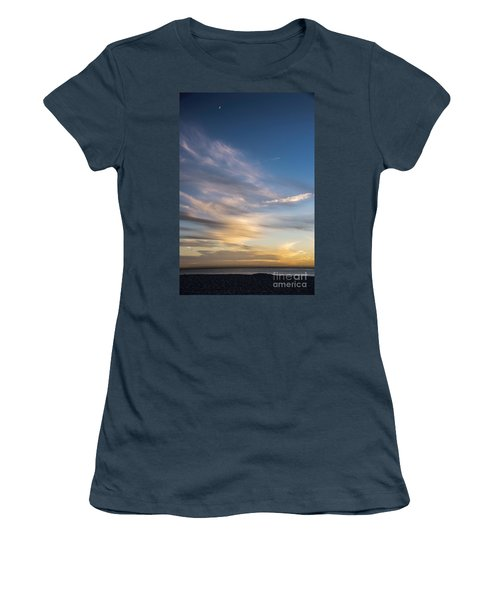Moon Over Doheny Women's T-Shirt (Junior Cut) by Peggy Hughes
