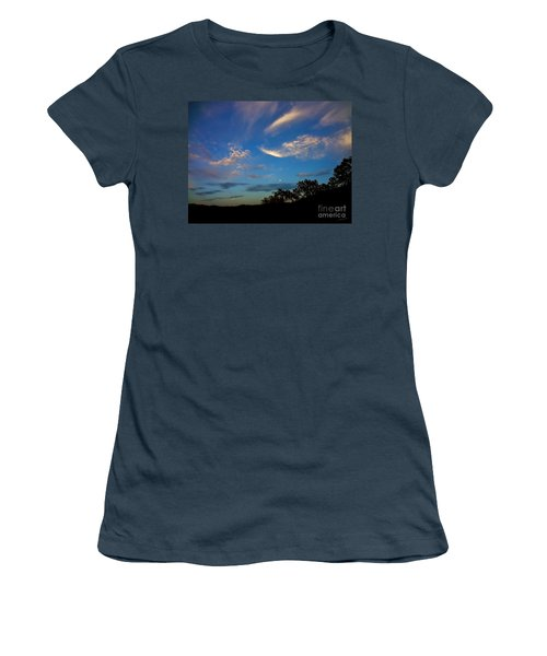 Moonrise Hill Women's T-Shirt (Athletic Fit)