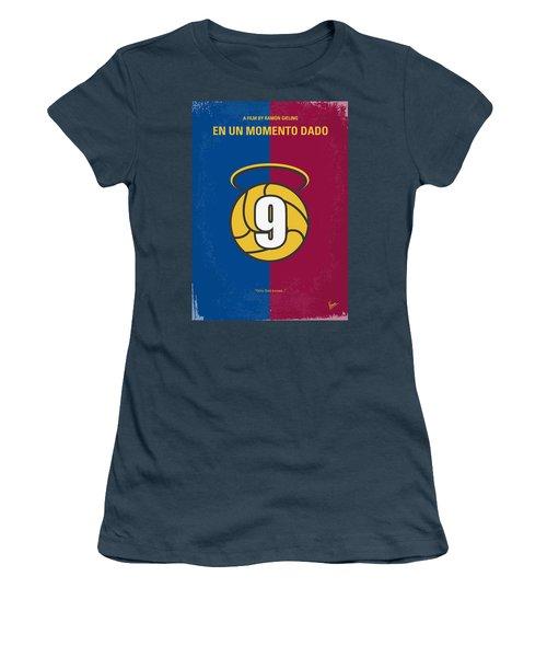 No272 My En Un Momento Dado Minimal Movie Poster Women's T-Shirt (Junior Cut) by Chungkong Art