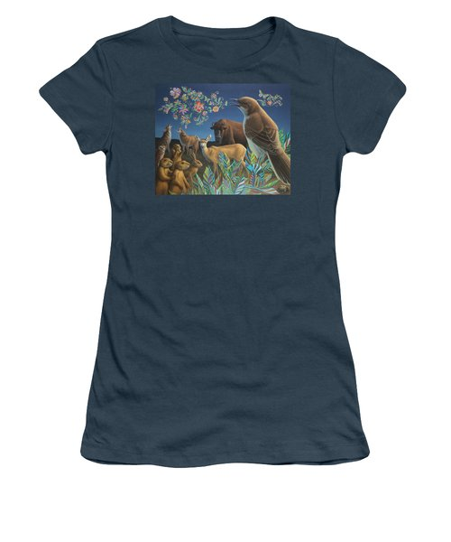 Nocturnal Cantata Women's T-Shirt (Junior Cut) by James W Johnson