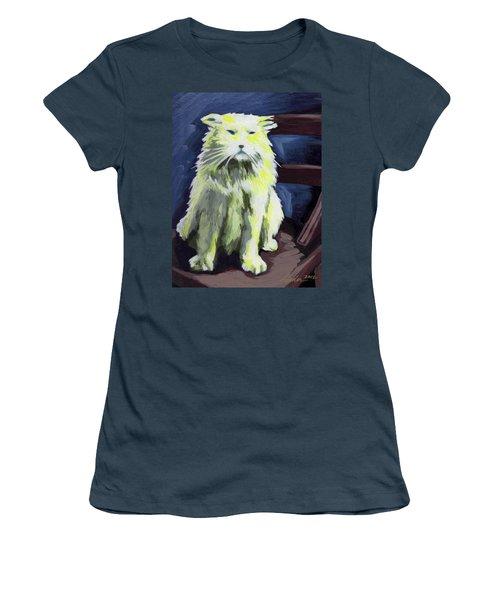 Old World Cat Women's T-Shirt (Junior Cut)