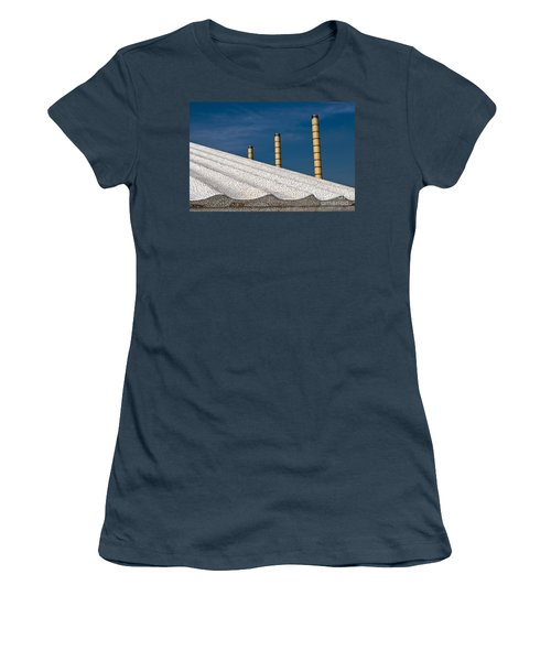 Olympic Columns Women's T-Shirt (Junior Cut) by Lana Enderle