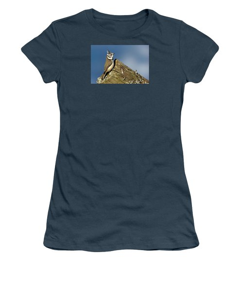 On The Edge Women's T-Shirt (Junior Cut) by Torbjorn Swenelius