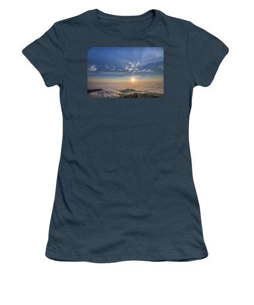 Pilchuck West 2 Women's T-Shirt (Junior Cut) by Charlie Duncan